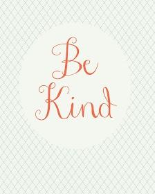 Be Kind  found on danielleburkleo.com